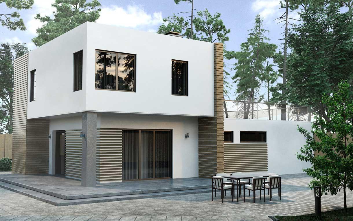 Строительство домов с мансардой