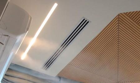 монтаж систем увлажнения воздуха офиса