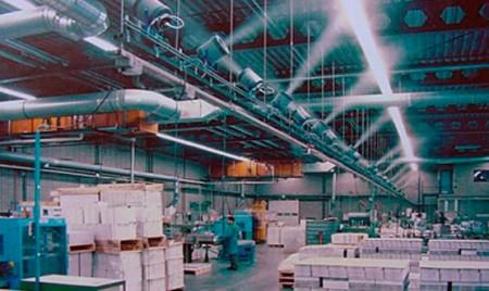монтаж систем увлажнения воздуха помещений с требованиями по влажности