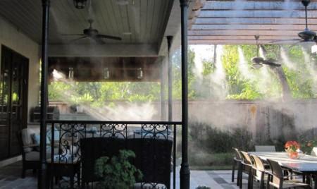 монтаж систем увлажнения воздуха частного дома