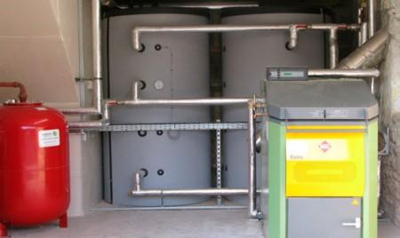 монтаж систем отопления торгового помещения