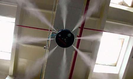 монтаж систем увлажнения воздуха