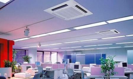 монтаж систем кондиционирования офиса