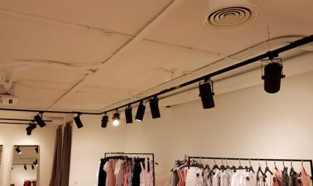монтаж систем кондиционирования торгового помещения