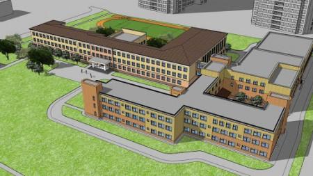 Капитальный ремонт здания школы