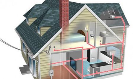 проектирование внутреннего электроснабжения коттеджа
