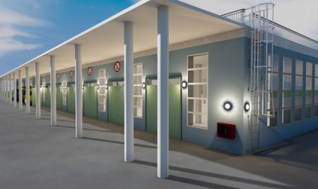 Проектирование систем отопления складского комплекса