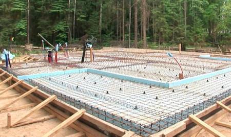Строительство фундамента УШП