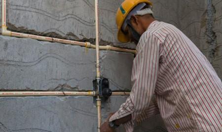 Монтаж систем электроснабжения административного здания