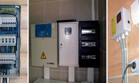 монтаж систем электроснабжения частного дома
