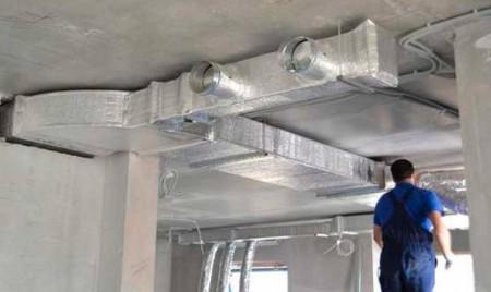 Монтаж систем вентиляции коттеджа